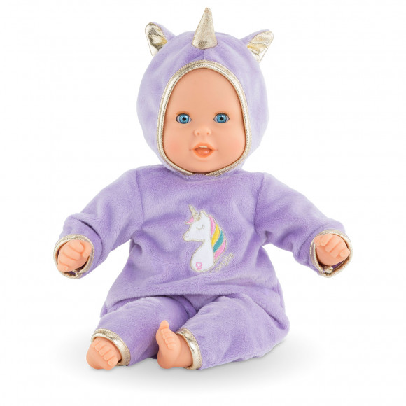 Poupon Bébé Calin Licorne