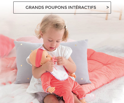 grands poupons interactifs