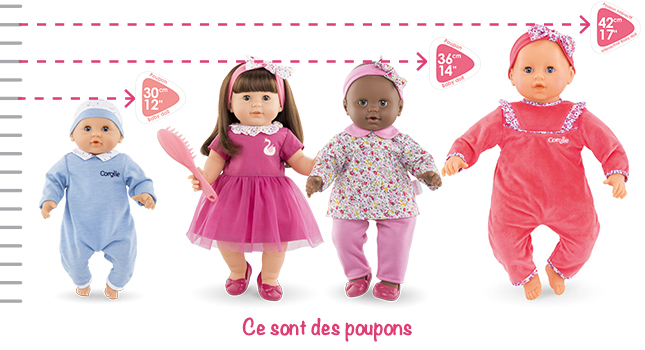 guide taille poupons